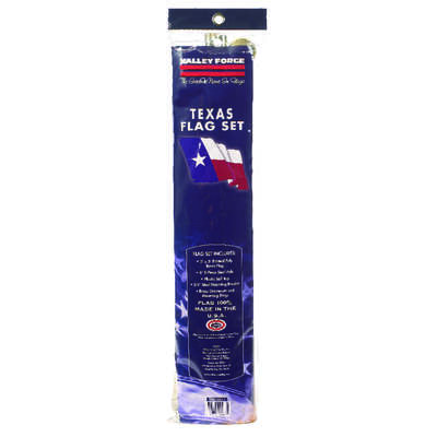 Valley Forge  Texas  Flag Kit  36 in. H x 60 in. W