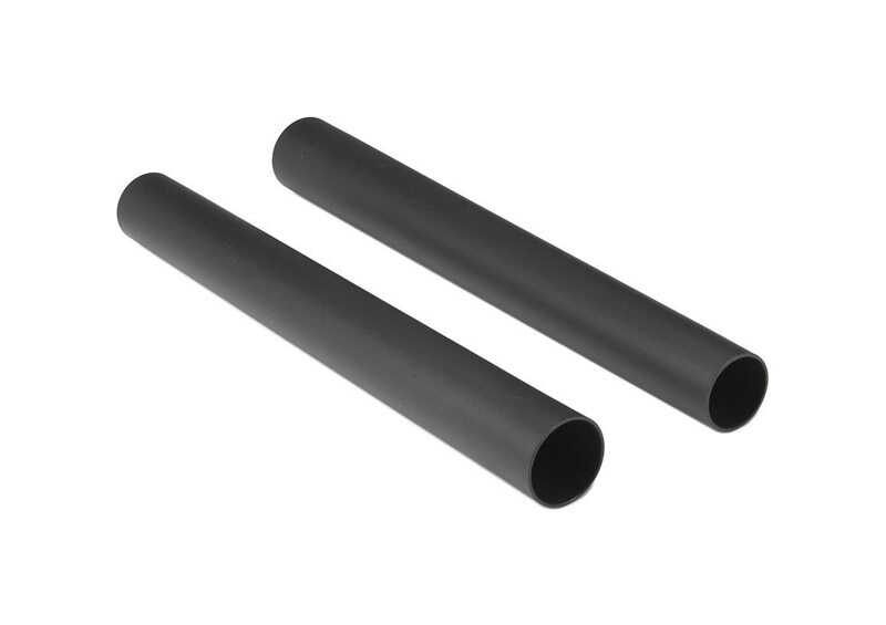 Shop-Vac  4 in. L x 7 in. W x 2-1/2 in. Dia. Extension Wand  Black  2 pc.