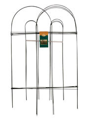 Panacea 10 ft. L x 32 in. H PVC Green Garden Fence