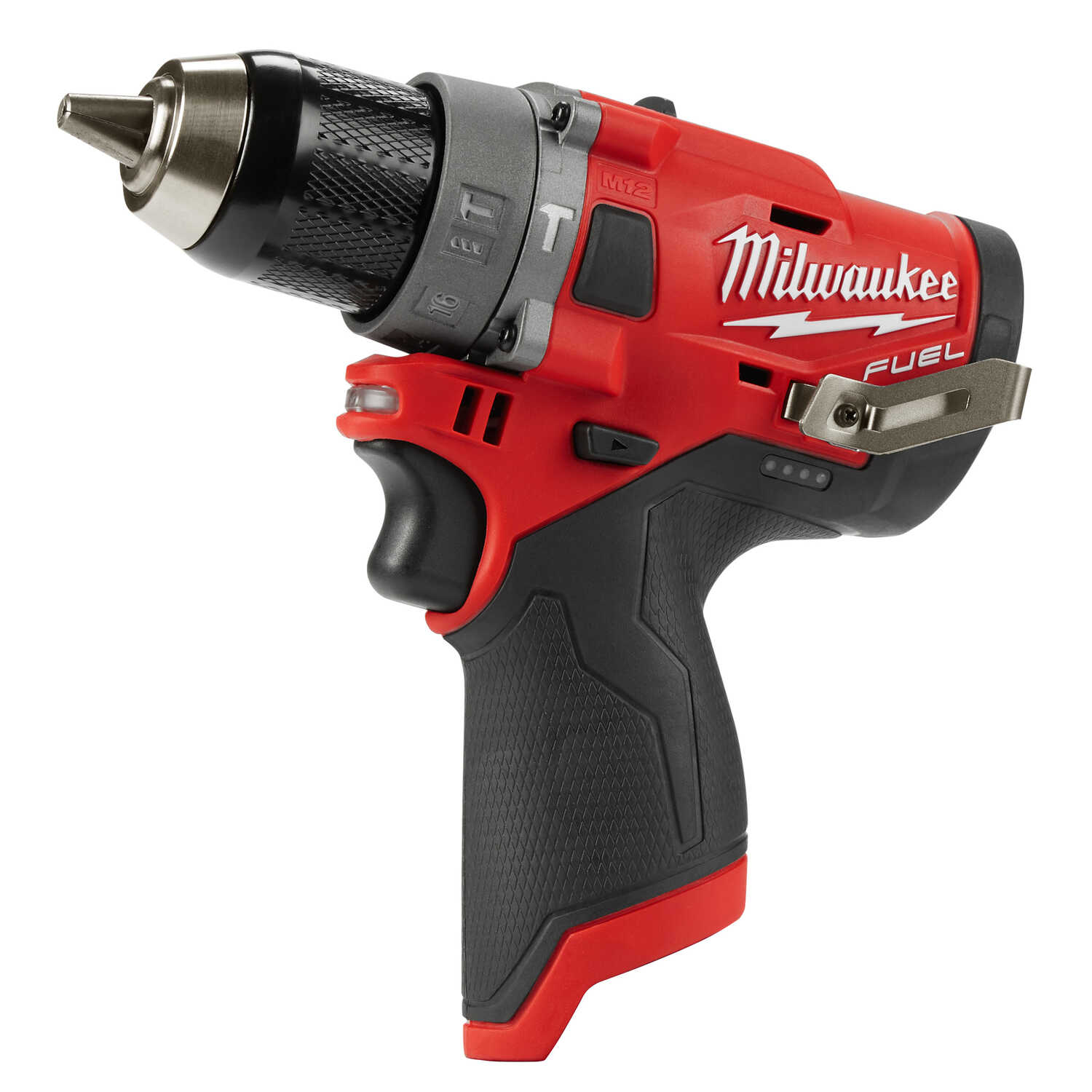 Milwaukee  M12 FUEL  12 volt Brushless  Cordless Hammer Drill/Driver  Bare Tool  1/2 in. 1700 rpm