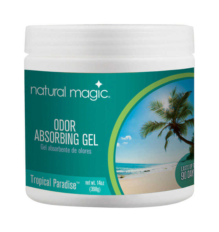 Gonzo  Natural Magic  Tropical Scent Odor Absorber  14 oz. Gel