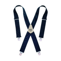 CLC 4 in. L x 2 in. W Nylon Suspenders Blue 1 pair