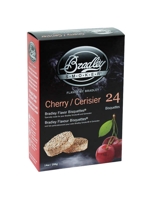 Bradley Smoker  Cherry  All Natural Wood Bisquettes  10