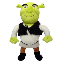 Multipet  Shrek  Multicolored  Plush  Dog Toy  Large