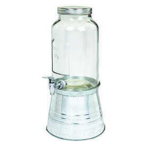 Circle Glass  192 oz. Sun Tea Jar  Glass  Clear