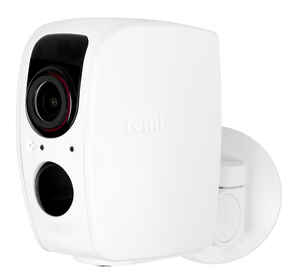 Tend Secure  Lynx Pro  Plug-in  Indoor and Outdoor  White  Security Camera