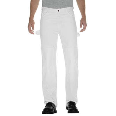 Dickies Men's Double Knee Pants 32x30 White