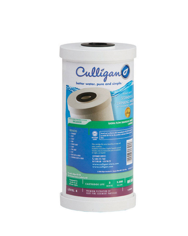Culligan  Level 4 Heavy-Duty Sediment & Drinking Water  Replacement Filter Cartridge  For Whole Hous