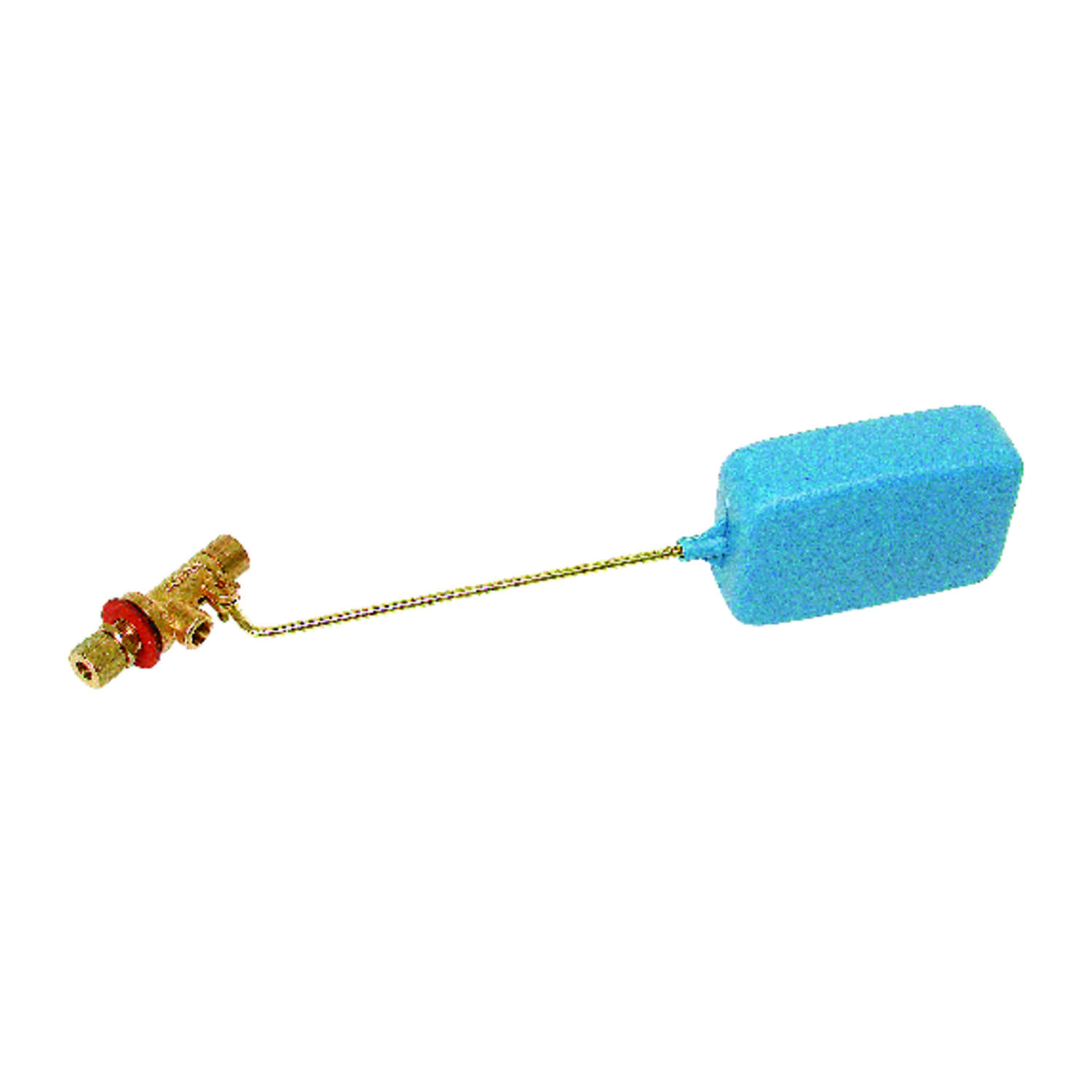 Dial  2-1/2 in. H x 2-1/2 in. W Brass  Blue  Evaporative Cooler Float Valve