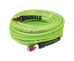 Flexzilla  50 ft. L x 1/4 in. Dia. Pro  Hybrid Polymer  Air Hose Kit  300 psi Green