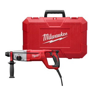 Milwaukee  1 in. SDS-Plus  Corded  Rotary Hammer Drill  Kit 8 amps 2.1 ft./lbs. 5860 bpm