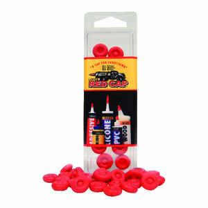Little Red Cap  Professional  Latex  Reusable Cualking Caps  16 pk