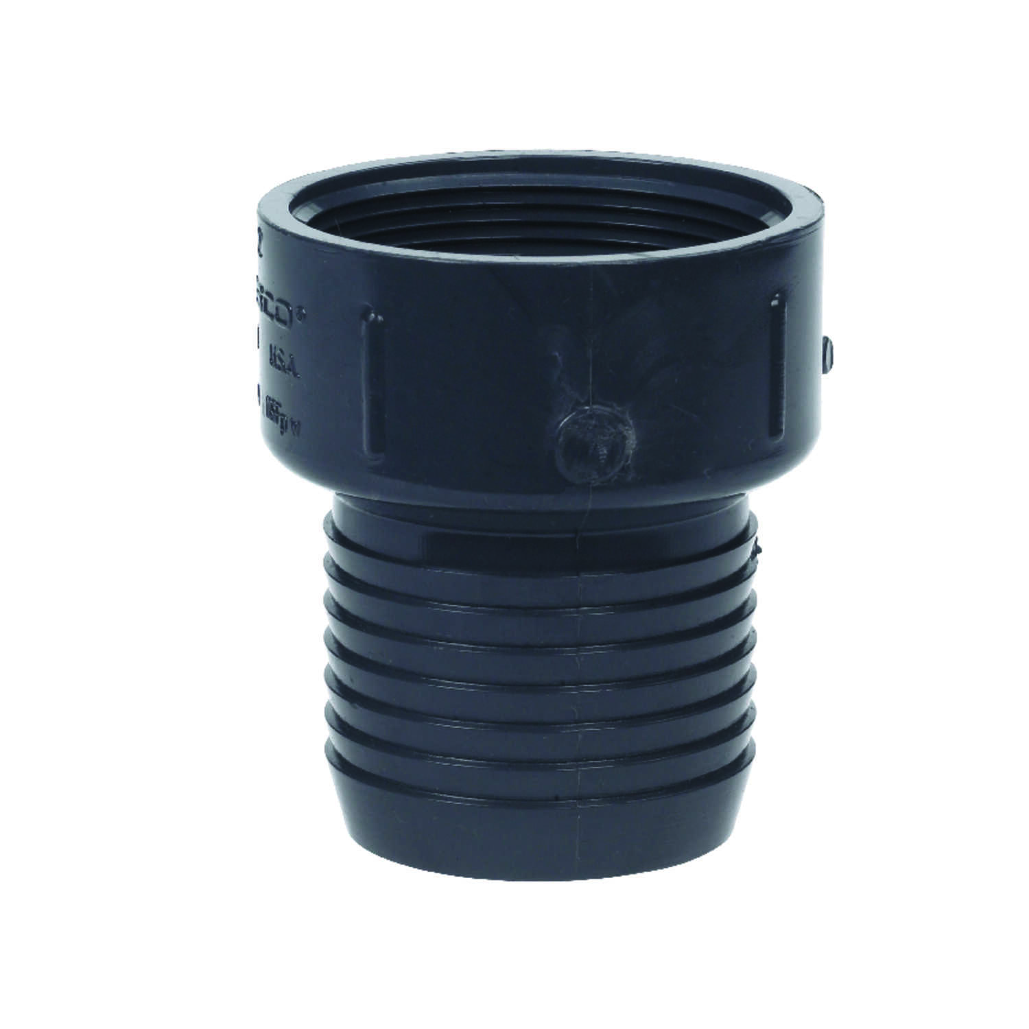 Lasco  2 in. Insert   x 2 in. Dia. FPT  Insert Adapter
