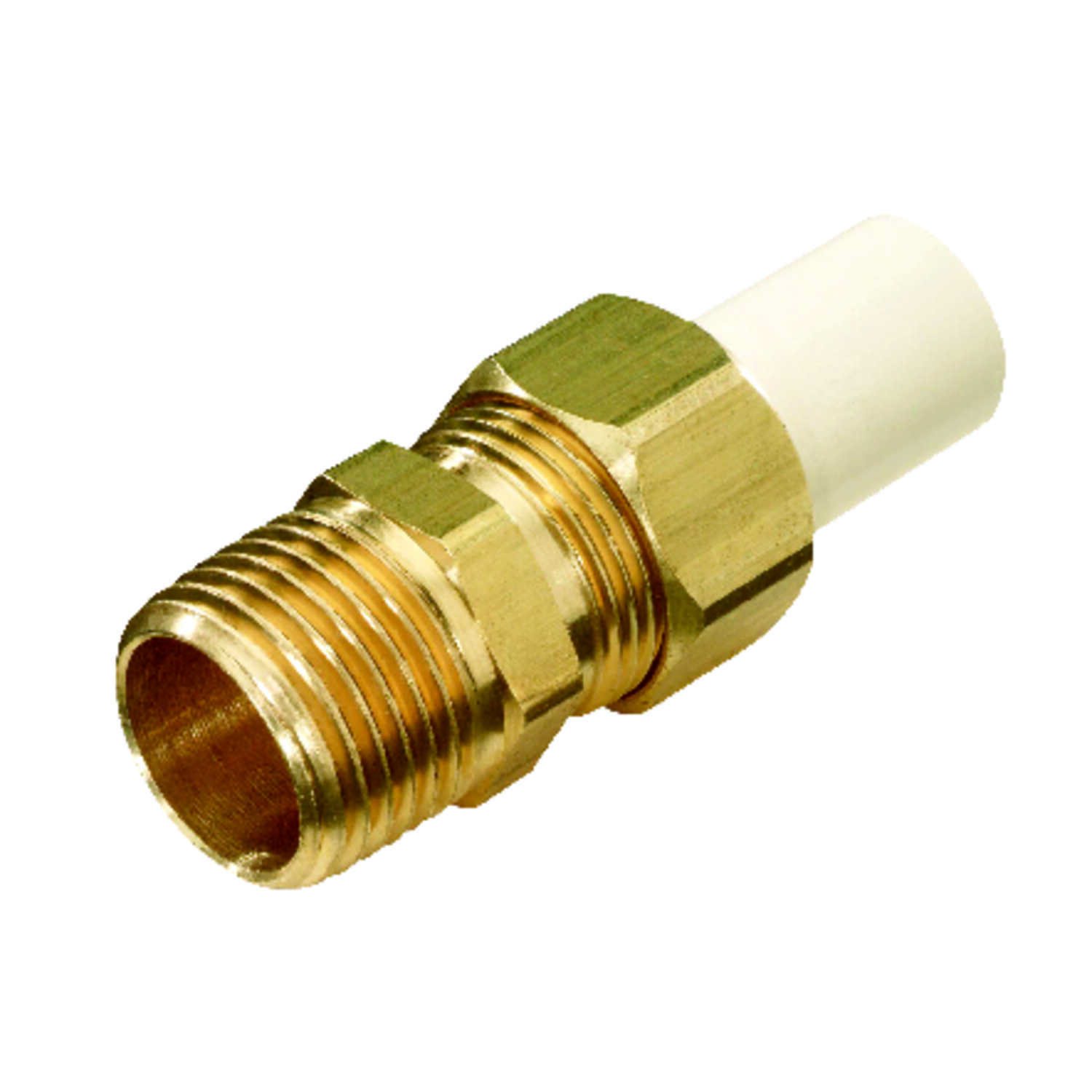KBI  Schedule 40  1/2 in. MPT   x 1/2 in. Dia. Spigot  CPVC  Transition Adapter