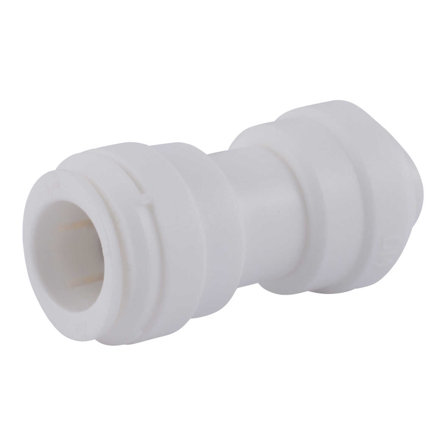 SharkBite  Quick Connect  1/2 in. Push   x 3/8 in. Dia. Push  Plastic  Reducing Coupling