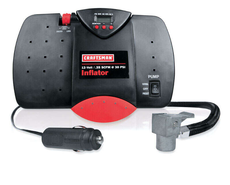 Craftsman  Portable  100 psi Electric Inflator  12