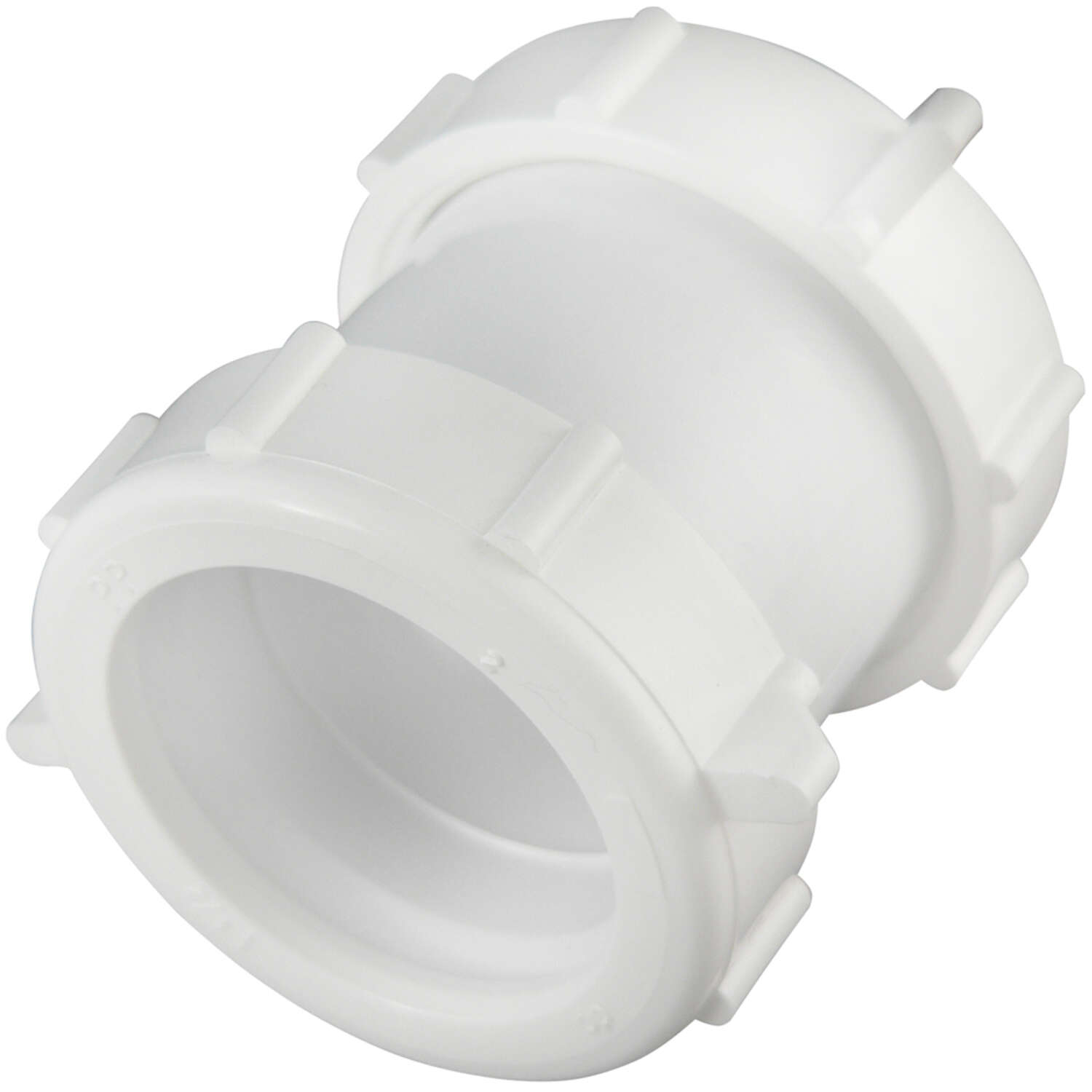 Plumb Pak  1-1/2 in. Dia. x 6.13 in. L Plastic  Straight Extension Coupling