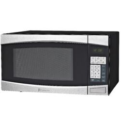 Perfect Aire  1.4 cu. ft. Black/Silver  Microwave  1000 watt