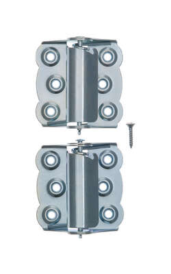 Ace 2-3/4 in. L Zinc-Plated Screen/Storm Self Closing Hinge 2 pk