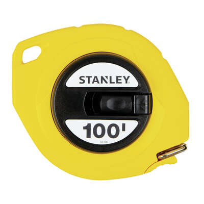 Stanley  100 ft. L x 0.38 in. W Long Tape Measure  1 pk