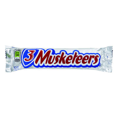 3 Musketeers  Milk Chocolate  Candy Bar  1.92 oz.