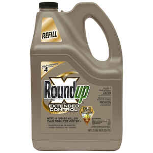 Roundup  Extended Control  RTU Liquid  Weed and Grass Killer Refill  1.25 gal.