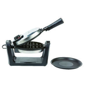 West Bend  Stainless Steel  Waffle Maker  Brushed