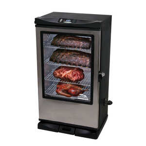 Masterbuilt  Sportsman Elite 40 in.  Electric  Black  Smoker