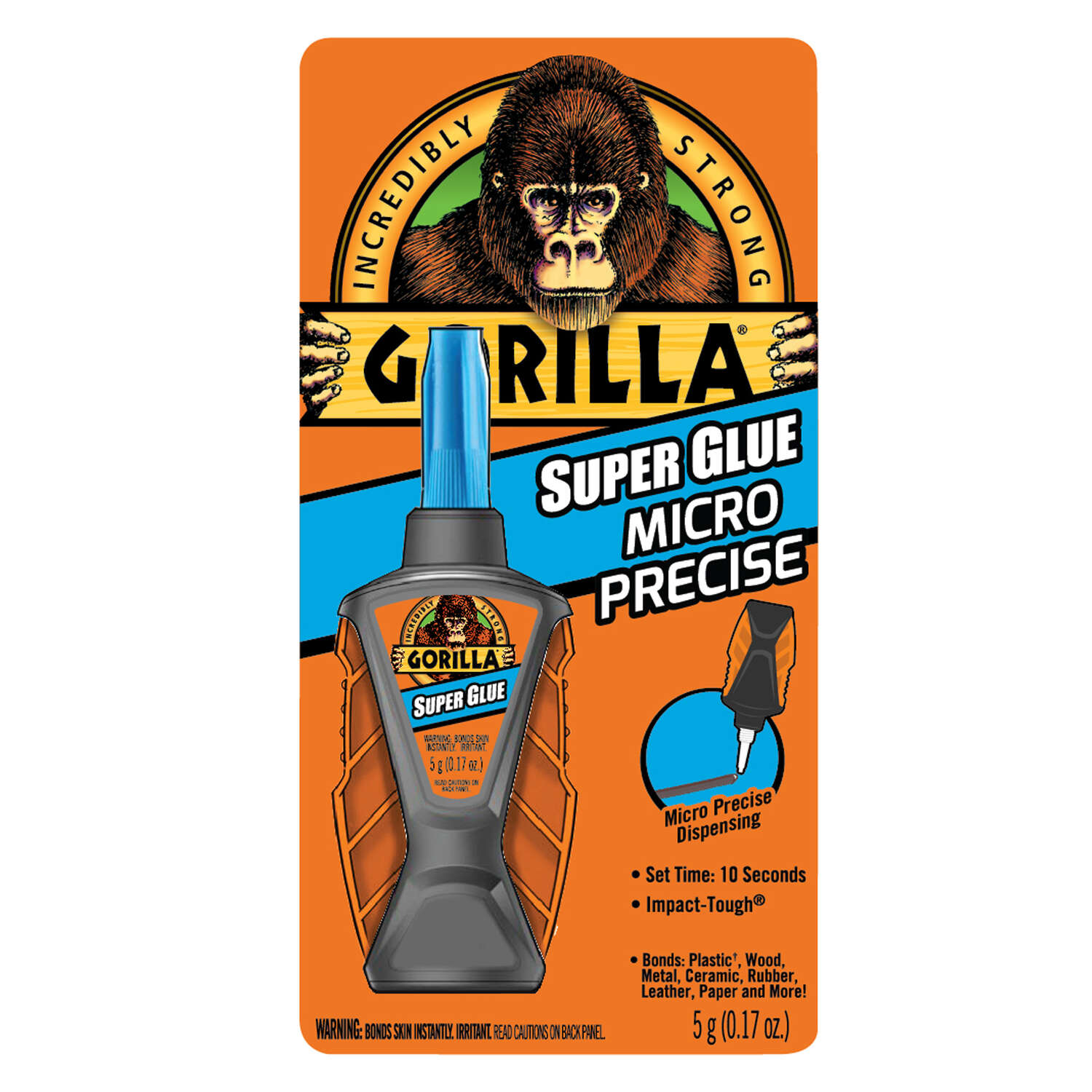 Gorilla  High Strength  All Purpose Super Glue  0.17 oz.