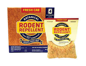 Fresh Cab  Botanical  For Rodents Animal Repellent