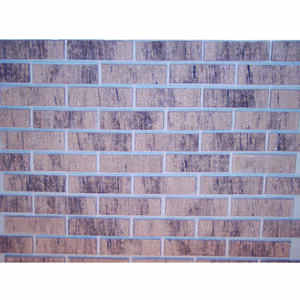 Z-Brick  8 in. H x 2.25 in. W Red  Wheat  Face Brick  3-1/2 sq. ft.
