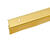 Frost King Brushed Chrome Gold Aluminum Door Sweep 1 pk