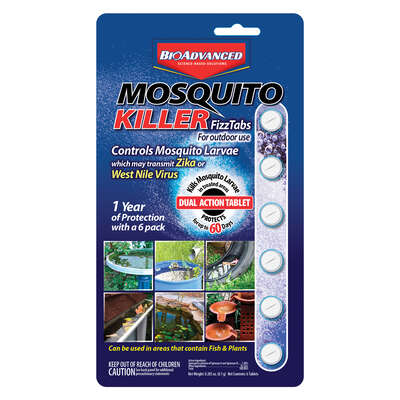 BioAdvanced  Tablets  Mosquito Larvae Control  6 pk