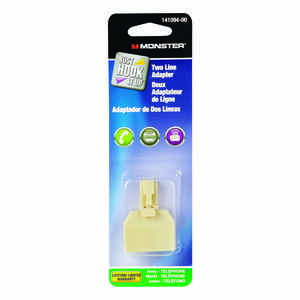 Monster Cable  Just Hook It Up  Phone Adapter  1 each
