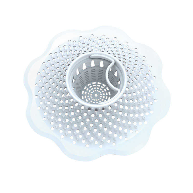 Danco  5  Dia. Drain Cover  Plastic  White