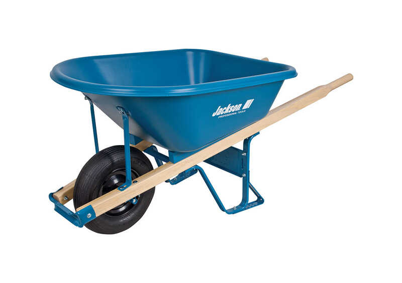 Jackson  Poly  Wheelbarrow  6 cu. ft.