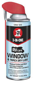 3-IN-ONE  RV Care  Window and Track  Dry Lubricant  10 oz. Can