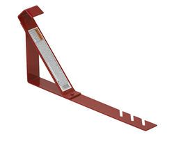 Qual-Craft  Steel  Red  Roof Bracket  1 pk