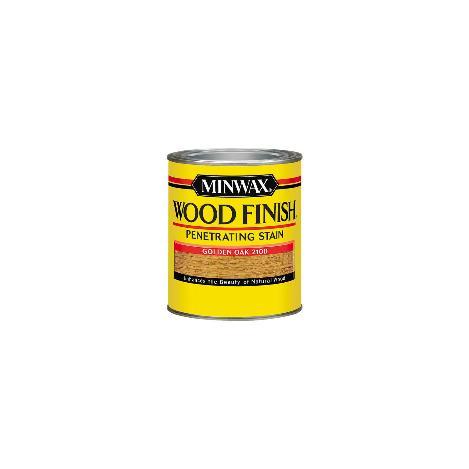 Minwax  Wood Finish  Semi-Transparent  Golden Oak  Oil-Based  Wood Stain  0.5 pt.