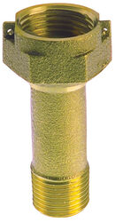 BK Products  ProLine  1 in.  x 1 in.  Brass  Meter Coupling  MIP  1 pc.