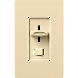 Lutron Skylark Ivory 150 watt 3-Way Dimmer Switch 1 pk