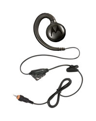 Motorola Solutions  Earpiece w/Microphone  1 pk