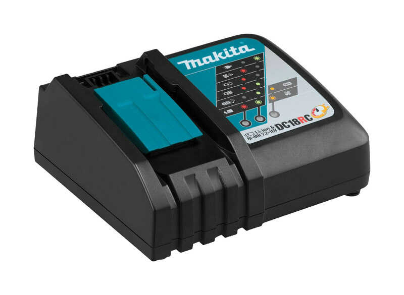Makita  LXT  Lithium-Ion  Battery Charger  1 pc. 18 volt