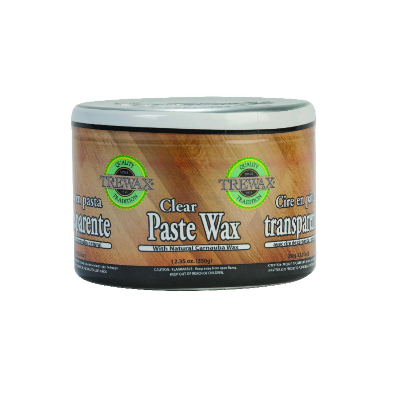 Trewax Clear Paste Wax Clear Floor Wax 12.35 Oz.