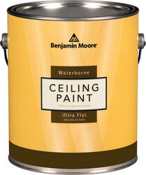 Benjamin Moore  Waterborne Ceiling Paint  Flat  Base 3  Ceiling Paint  Interior  1 gal.