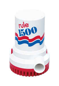 Rule  1500 gph Bilge Pump  12 volt