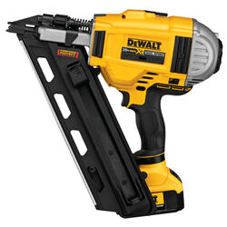 DeWalt  16 Ga. Cordless  30 deg. Framing Nailer  Kit 20 volt