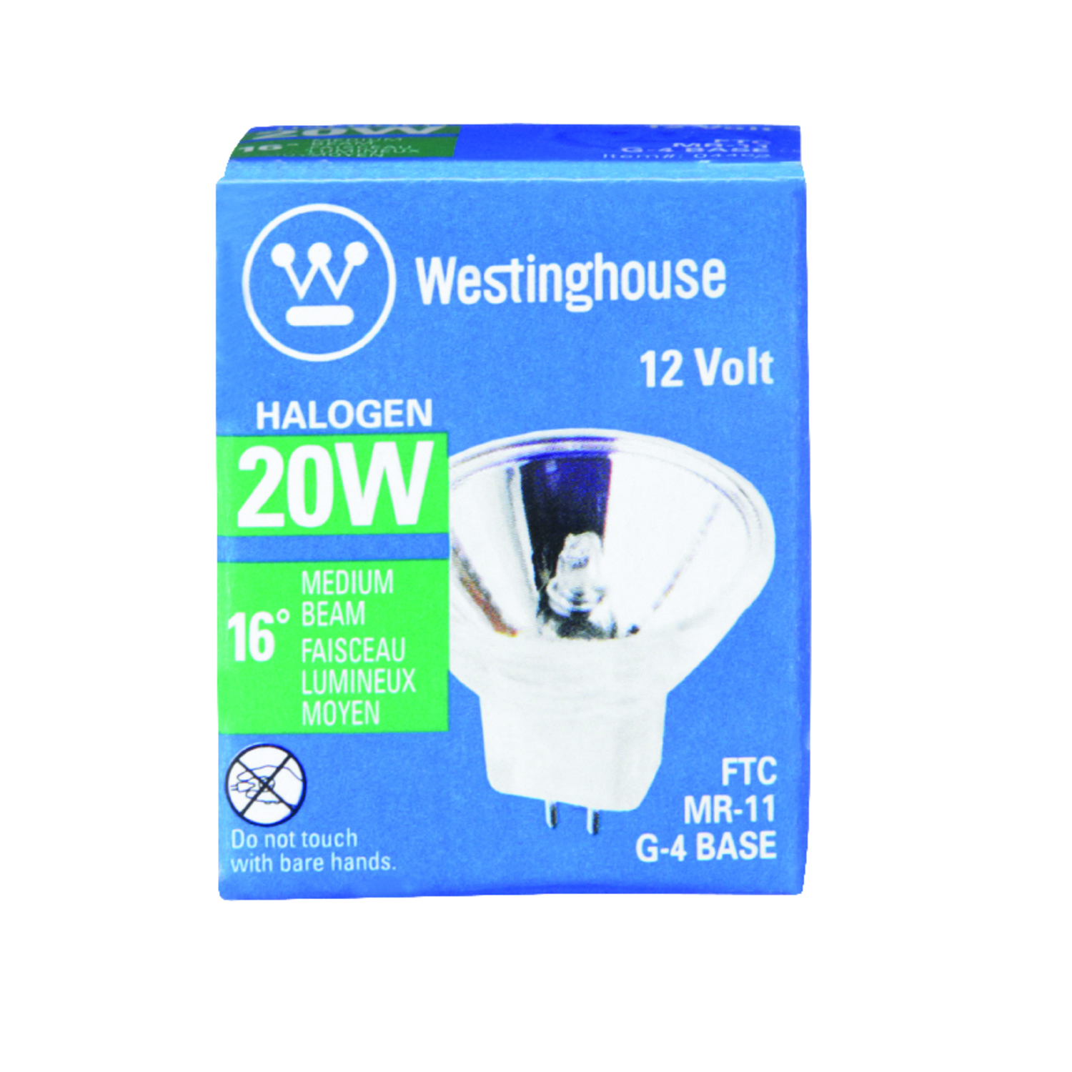 Westinghouse  20 watts MR11  Halogen Bulb  230 lumens Floodlight  1 pk