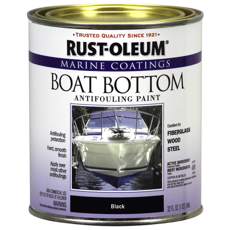 Rust Oleum Marine Coatings Outdoor Black Antifouling Paint