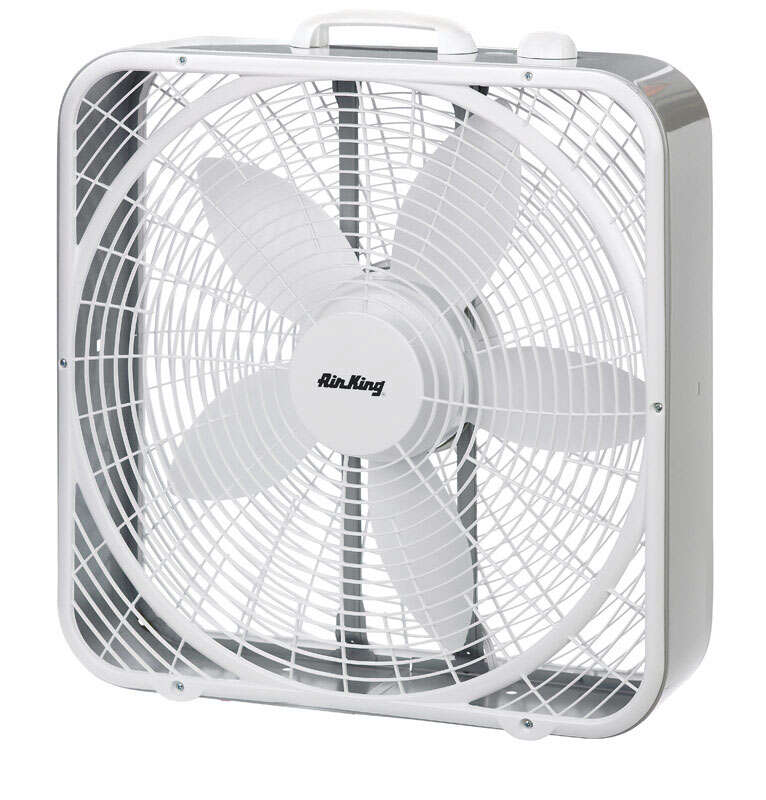 Lasko Air King  20 in. 3 speed Electric  Box Fan